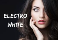 Electro White Contacts - 1 Day